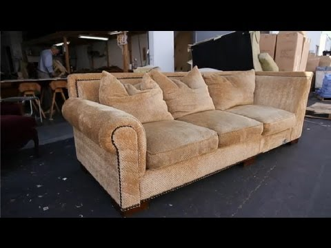 How to Repair a Sagging Sofa : How to Repair a Sagging Sofa