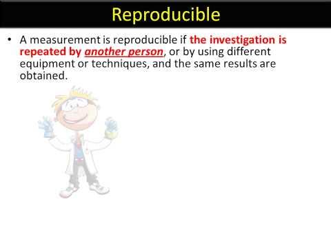 ISA language YOUTUBE 8 - Reproducible and Repeatable