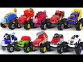Blaze And The Monster Machines Dinosaur Ninja Pirate Fire Truck With PJ Masks Go DuDuPopTOY