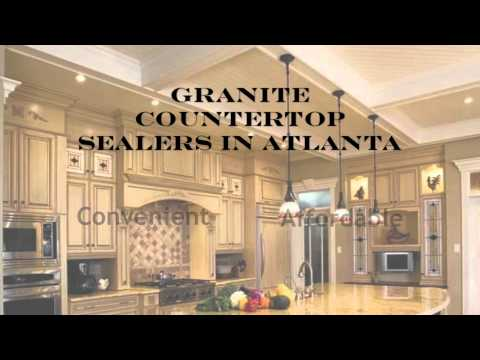 Granite Countertop Sealers in Atlanta