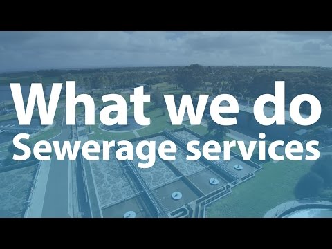 What Western Water does - sewerage services