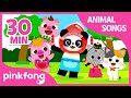 The Kitty Song And More Compilation Animal Songs Pinkfong Songs For Children