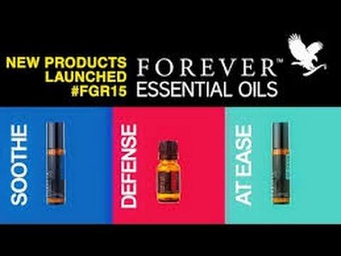 Forever Living Essential Oils - Blends