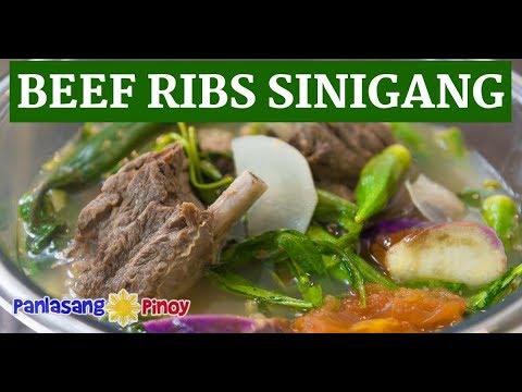 Beef Ribs Sinigang