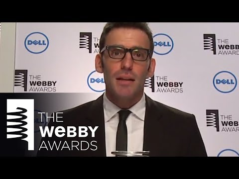 smartassdesign's 5-Word Speech at the 18th Annual Webby Awards