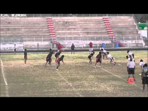 AJHS Girls Flag Football Team