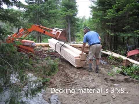 Building a driveway and bridge in VT
