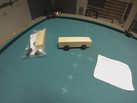 Building The Pine Wood Derby Cars