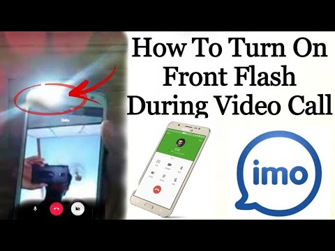 How to Turn On Front Flash During Video Call in Samsung Galaxy J5/J7