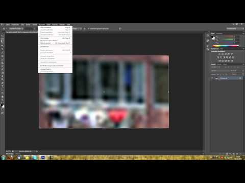 Governmental image processing! Unblur and unpixelate bad photos in Photoshop!
