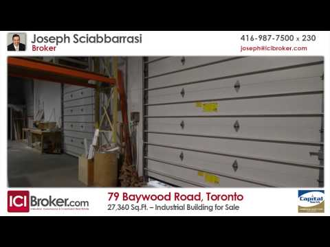 Industrial Building for Sale: 79 Baywood Road, Toronto