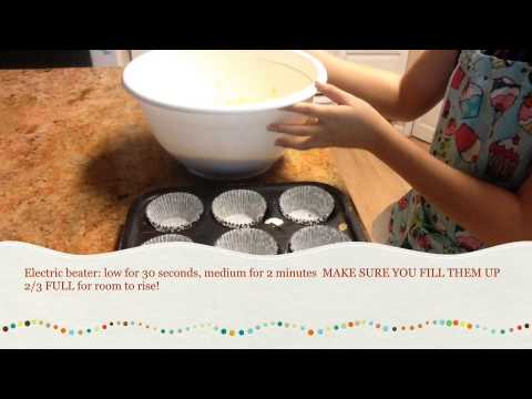How To: Bake Duncan Hines Cupcakes