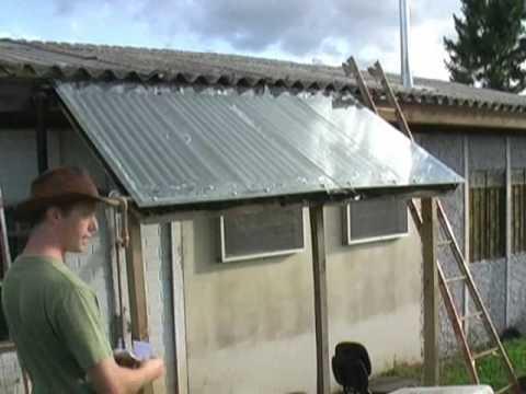 Homemade Solar Water Heater / Aquecedor Solar de Água Caseira