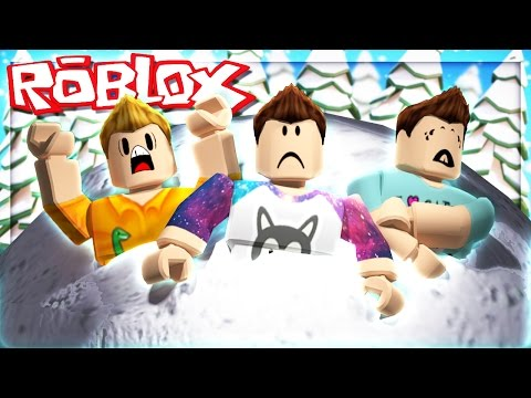Roblox Adventures - SURVIVE THE GIANT SNOWBALL! (Roblox Snow-Tastrophe)