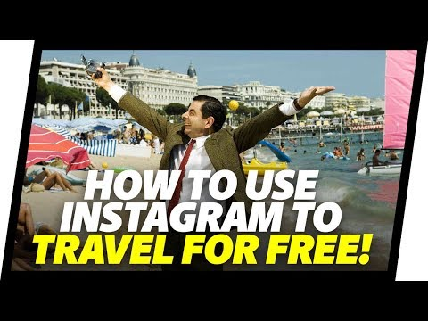 How To Get FREE TRAVEL With Instagram. Free Hotel Stays As A Travel Influencer