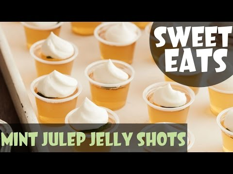 Mint Julep Jelly Shots | Food Network