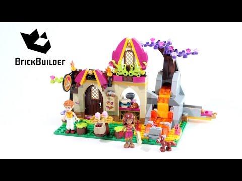 Lego Disney Elves 41074 Azari and the Magical Bakery - Lego Speed Build