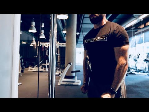 Vlog 118.0 - Push Workout |  NEW DC APARTMENT TOUR