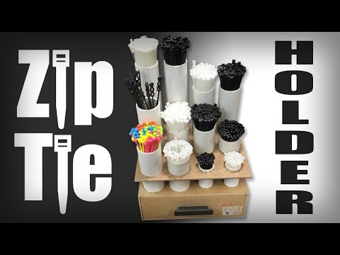 Ⓕ Making A Zip Tie Holder (ep78)