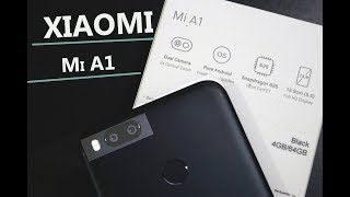 Xiaomi Mi A1 (Black)  | Android One |  Indian Retail Variant Unboxing & Overview