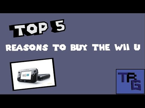 Top 5 Reasons to Buy the Wii U