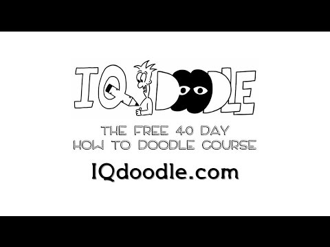 Day 1: The Visual Alphabet - Free 40 Day How to Doodle Course