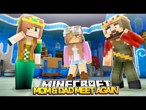 Minecraft Royal Family : MOM AND DAD MEET AGAIN! w/LittleKellyandLittleCarly
