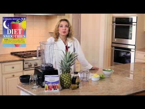 Caribbean Cooler Smoothie Recipe for Weight Loss