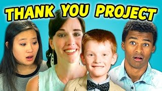 Teens React to Thank You Project