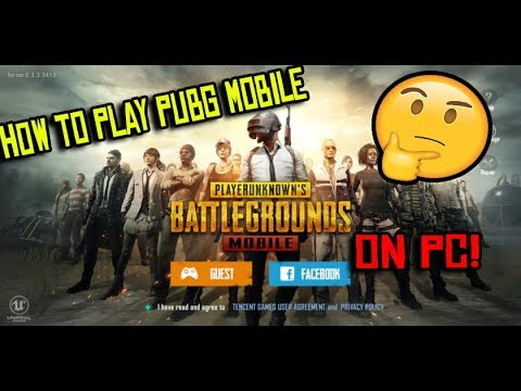 HOW TO PLAY PUBG MOBILE ON PC!!! (WORKING 100% 2018) JUST 1.34GB
