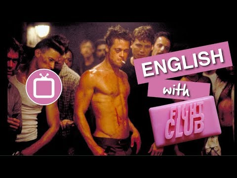 Learn English through Movies | Brad Pitt & Fight Club