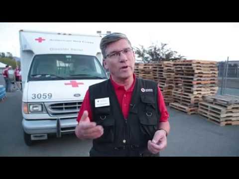 Red Cross Responds to California Wildfires October 2017 - Update #2