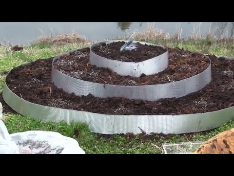 Planting A Strawberry Pyramid