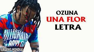Ozuna-Una flor-Letra
