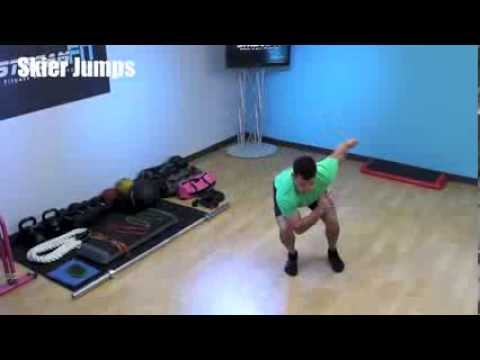 Skier Swings Plus Some Other Skiing Exercises