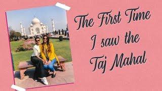 Nigaar and Gauahar see the Taj Mahal for the first time | Gauahar Khan