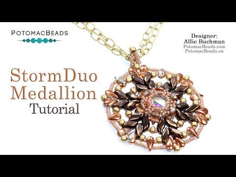 StormDuo Medallion Pendant (DIY Tutorial)