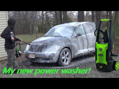 Greenworks 1600psi Power Washer