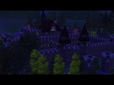 The Sims 3 - Building Spring Castle