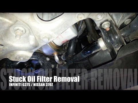 Removing Stuck Oil Filter