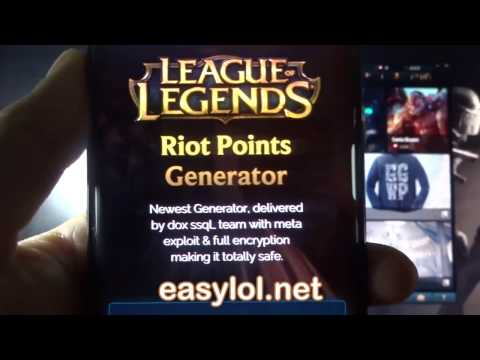 Free Riot Points - LoL RP Hack - How To Get Free Riot Points in League of Legends