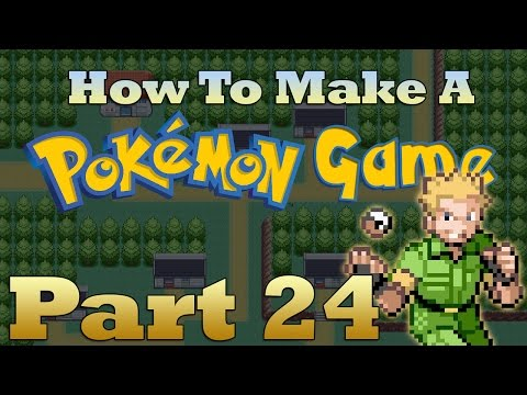 How To Make a Pokemon Game in RPG Maker - Part 24: Gyms