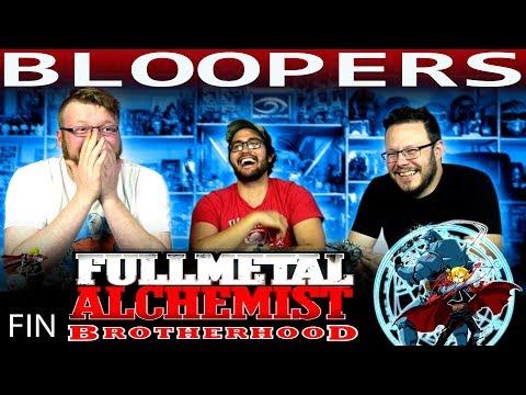 Fullmetal Alchemist: Brotherhood Bloopers REACTION!!