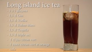 cocktail long island ice tea recette