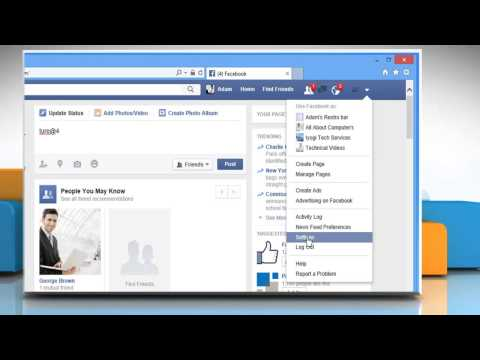 How to disable subscribers/followers in Facebook® on Windows® 8