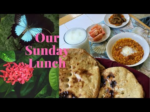 How to make Tandoori Roti & Daal |Our Sunday lunch|