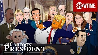 Our Cartoon President (2018)   Teaser Trailer   Stephen Colbert SHOWTIME Series