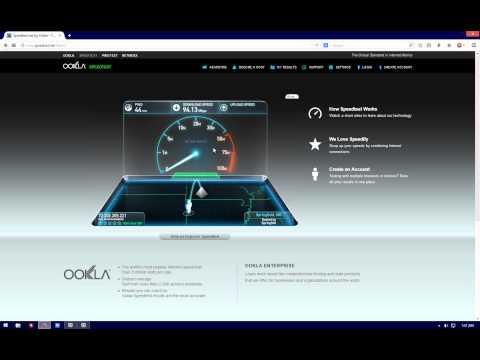 Cox premier speed test