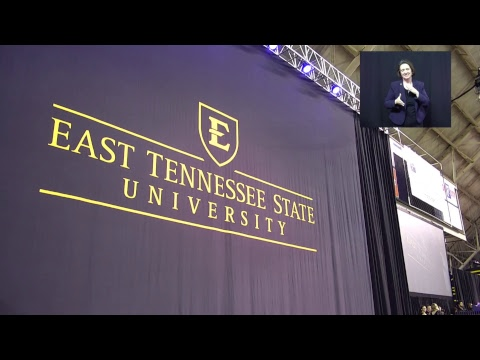 ETSU 2018 Spring Commencement 2:00 PM