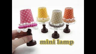 DIY Doll Accessories Mini Lamp - Easy